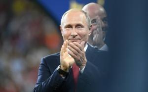"""La Russie visée par """"25 millions de cyber-attaques"""" pendant le Mondial, selon Poutine"""