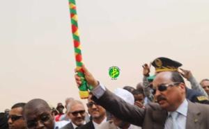 Le Président de la République donne, à partir de la ville de Boghé, le coup d'envoi de la campagne agricole 2018-2019