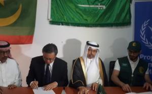 Mauritanie : Aide alimentaire saoudienne au PAM