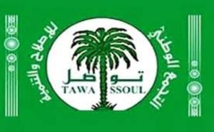 Tawassoul présent dans 156 communes