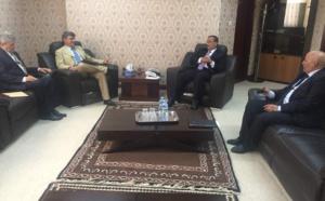 Le ministre des affaires étrangères reçoit le chef de la Délégation de l'UE à Nouakchott