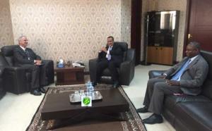 Le ministre des Affaires étrangères reçoit le représentant de l'UNICEF en Mauritanie