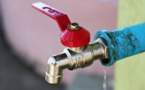Sebkha privée d'eau