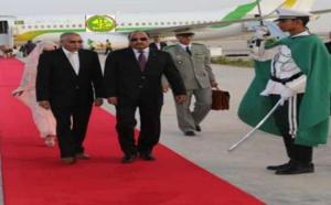 Le Président de la République regagne Nouakchott en provenance de Bamako