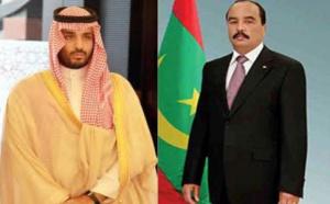 Le Président de la République félicite le prince héritier d'Arabie saoudite