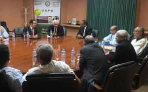 Le Président de l'Union Nationale du Patronat Mauritanien reçoit en audience l'ambassadeur d'Indonésie