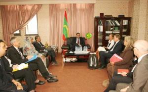 Le ministre de l'Économie et des Finances reçoit une délégation allemande