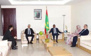 Le Premier ministre reçoit une mission du fonds mondial de la lutte contre le SIDA, le paludisme et la tuberculose