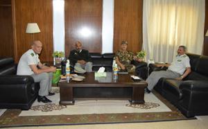 Le CEMGA reçoit une délégation Algérienne
