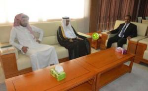 Réunion de travail entre le président du Patronat Mauritanien et l'ambassadeur d'Arabie Saoudite à Nouakchott