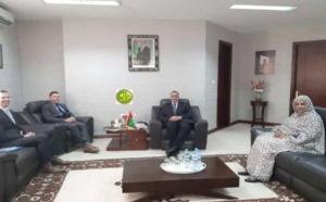Le Ministre des affaires étrangères s'entretient avec l'ambassadeur des Etats Unis d'Amérique