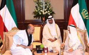L'ambassadeur de Mauritanie présente ses lettres de créances à l'Emir du koweït