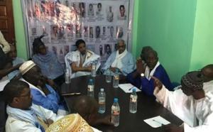 O. Maouloud rend visite aux familles des victimes des incidents de 1989