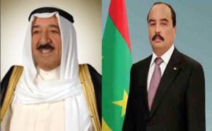 Le Président de la République adresse un message de remerciements à l'Emir de l'Etat du Koweït