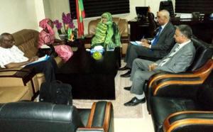 La ministre du développement rural reçoit la chargée du portefeuille de la Mauritanie auprès du FIDA