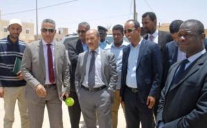Le ministre de l'équipement et des transports s'enquiert des travaux des routes à Tevagh-Zeina
