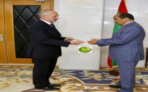 Le Président de la République reçoit les lettres de créance du nouvel ambassadeur britannique