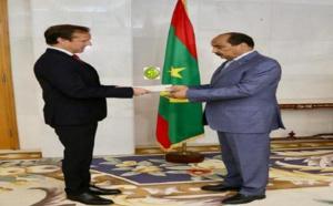 Le Président de la république reçoit les lettres de créances du nouvel ambassadeur du Danemark