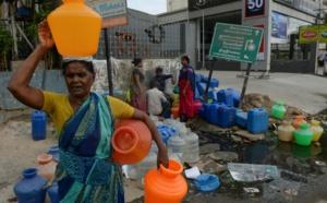 Inde: dans Chennai à court d'eau, la quête obsessionnelle de l'or bleu