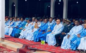 Le Président de la République donne le coup d'envoi de l'exposition du Festival des villes anciennes