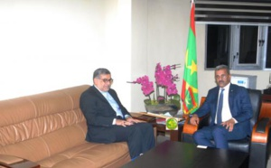 Le ministre du Développement rural reçoit l'ambassadeur d'Iran