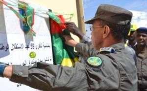 Le Chef d'état-major de la Garde Nationale inaugure à Tintane un marché relevant de la Caisse de la Garde nationale
