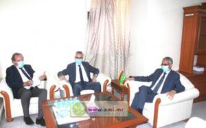Le Délégué Général de « TAAZOUR » reçoit l'Ambassadeur de France en Mauritanie