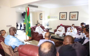 Le Président de la République rencontre des représentants de la communauté mauritanienne au Congo
