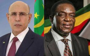 Le Président de la République félicite son homologue zimbabwéen