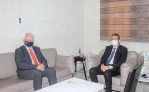 Le ministre des finances reçoit l'ambassadeur du Royaume-Uni