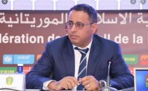 Ahmed Yahya en route pour Kigali pour une réunion de la CAF