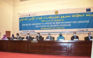 Lancement du projet de renforcement des capacités des forces de sécurité intérieure