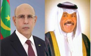 Le Président de la République adresse ses condoléances à l'Emir du Koweït