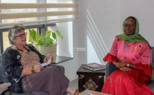 Visite de la directrice de l'AFD Mauritanie à l'APIM