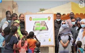 Projet Ensemble pour l'Environnement : Le GOETHE-INSTITUT construit un parc écologique à Sebkha (Nouakchott)