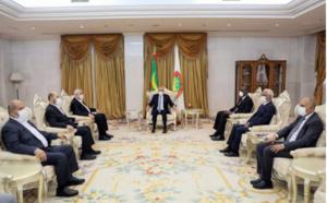 Le Président de la République reçoit une délégation du mouvement Hamas