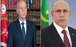 Le Président de la République s'entretient au téléphone avec son homologue tunisien
