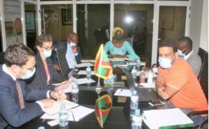 Rencontre entre Meridiam et des PMEs mauritaniennes à l'APIM