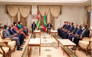 Le Président de la République s'entretient avec son homologue togolais