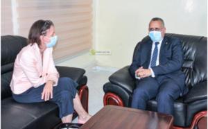 Le président de la CNDH s'entretient avec l'ambassadrice d'Allemagne