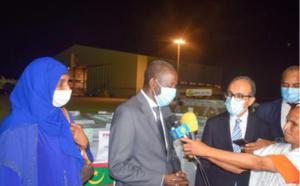 Réception d'un don tunisien de vaccins anti-Covid-19
