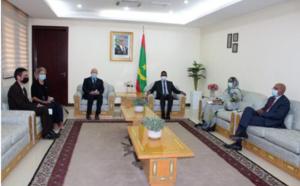 Le Premier ministre reçoit le conseiller spécial du haut commissaire pour les réfugiés