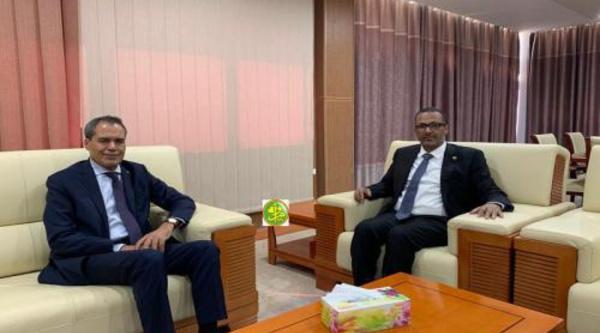 Le président de l'Union Nationale du Patronat Mauritanie s'entretient avec l'ambassadeur du Maroc en Mauritanie