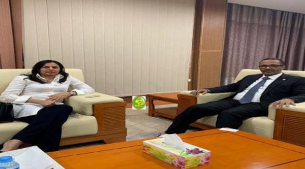 Le président du patronat mauritanien s'entretient avec l'ambassadrice de la Malaisie